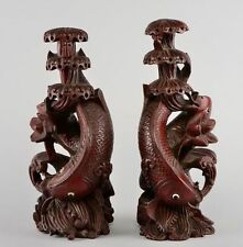 Wooden/Woodenware Statue Japanese Antiques