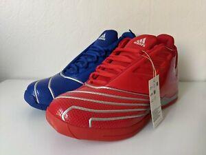 Adidas T-Mac 2 All Star EVO Red Blue size 10 Mismatched New Restomod Tmac