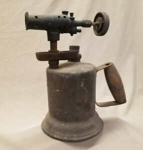 Plumber's Antique Blow Torch With A WWII Naval History