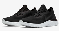 Nike Epic React Flyknit 2 Running Shoes Black White BQ8928-002 Men's NEW