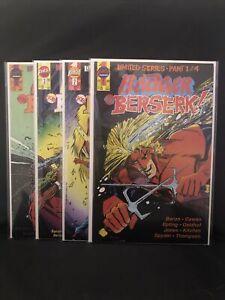 Badger Goes Berserk #'s 1-4 complete set mike baron - simonson First Comics