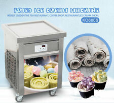 Kolice 22x22 inches square pan fried ice ceram machine,rolled ice cream machine