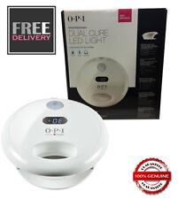 OPI GelColour Dual Cure LED Nail Light / Lamp - UK SELLER - UK PLUG - FREE P&P
