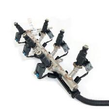 Genuine GM 3.6L Fuel Injectors w/ Fuel Rail & Harness Assembly Set of 6 OEM