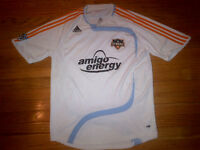 Houston Dynamo MLS Adidas Climacool Clima365 Soccer Jersey Mens Size L