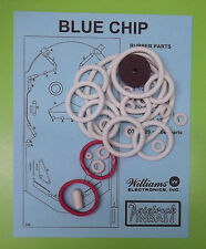 1976 Williams Blue Chip pinball rubber ring kit