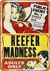 Metal Sign - 1936 Reefer Madness - Vintage Look Reproduction