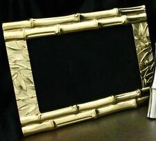 Picture Frame 4x6 Bamboo Design - Titanium Gold