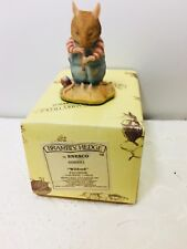 ENESCO BRAMBLY HEDGE STORE STUMP COLLECTION WILFRED FIGURINE 1989 BH4 698881