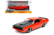 Jada Plymouth Barracuda 1973 Red 1/24