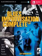 Blues Improvisation Complete Bb Instruments Berklee Labs Book + Audio 050449486