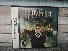 Nintendo DS Harry Potter And The Order Of The Phoenix game disc