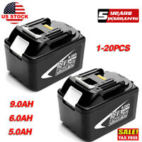 18V 9.0AH Battery For Makita LXT400 BL1850B BL1830B BL1860B Lithium Ion Cordless