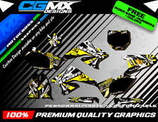 RMZ 250 SUZUKI Alpinestars Motocross MX ATV QUAD Graphics FULL DECAL Kit deco