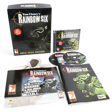 Tom Clancy's Rainbow Six Gold PC CD-ROM in Big Box, 1999, Action, Simulation