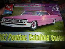 AMT 1962 PONTIAC CATALINA lowrider 1/25 Model Car Mountain KIT OPEN
