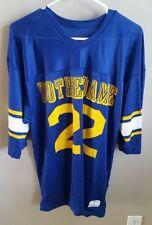 Vtg Champion NCAA Notre Dame Fighting Irish #22 Blue Football Jersey L Lrg USA