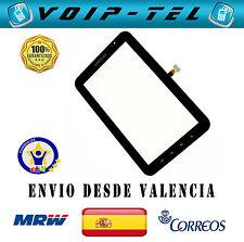 PANTALLA TACTIL DIGITALIZADOR SAMSUNG GALAXY TAB 7.0 P1000 NEGRO TOUCH DISPLAY