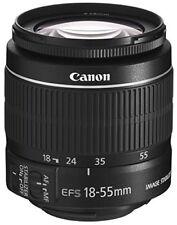 Canon standard zoom lens EF-S18-55mm F3.5 5.6 IS II APS - C compatible