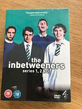 Inbetweeners - Series 1-3 - Complete (DVD, 2010, 5-Disc Set, Box Set)