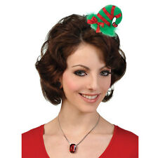 Christmas Mini Elf Hair Clip Hat Fancy Dress Costume Accessory