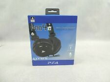 Pro 4 10 Stereo Gaming Headset PlayStation 4 PS4 4Gamers NEW Official Licensed