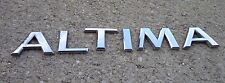 Nissan Altima emblem letters badge decal trunk rear OEM Factory Genuine Stock