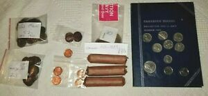Lot of (300+) Canadian Pennies and Nickels - Nice but nothing special  *ESTATE*