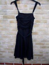 M & S Autograph Black Dress LBD Size 10 BNWT NEW