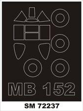 Montex Mini Mask 1:72 Bloch 152 for RS Model Kit Spraying Stencil #SM72237