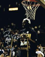 Ray Jackson Autographed Michigan Basketball Fab 5 Five 8x10 Photo JSA COA 3