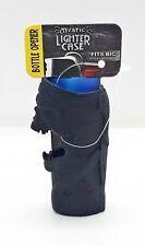 Smokezilla Black Mystic Style #4 Metal Bottle Opener Bic Lighter Case