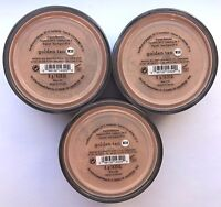 Bare Escentuals BareMinerals Foundation Golden Tan W30 8g XL SPF15 <PACK OF 3