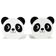 dotcomgiftshop MIKO THE PANDA BOOKENDS (SET OF 2)