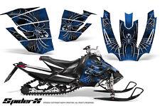 ARCTIC CAT SNOPRO RACE 500 600 SNOWMOBILE CREATORX GRAPHICS KIT SPIDERX BLUE