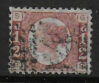 SG48.  1/2d.Rose-Red Plate 13. FU With Very Good Original Colour.  Ref:06106