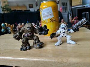 Hasbro Star Wars: Galactic Heroes Chewbacca and Clone Trooper