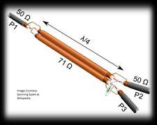 D5 WILKINSON POWER COMBINER DIVIDER HOMEBREW VHF UHF HAM 2M 144MHZ 70CM 432MHZ