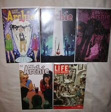 ARCHIE COMICS LIFE WITH ARCHIE #36 VARIANT SET & #37 VARIANT SET DEATH OF ARCHIE