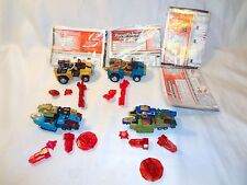 Transformers Energon Complete Lot x4 Strongarm Blue/Yellow Signal Flare Offshoot