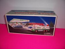1996 Hess Toy Emergency Truck with lights ,Horn , Emergency Siren ,Search Light