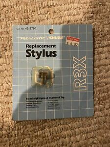 Realistic/Shure Replacement Stylus (R3X)