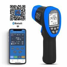 Infrared Thermometer Ir 50 800c Meter Auto Gun Bluetooth Thermal Sensor Gauge