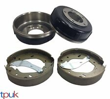 FORD TRANSIT 2.4 RWD REAR BRAKE DRUM AND SHOE SET MK6 2000 - 2006 BOTH WHEELS