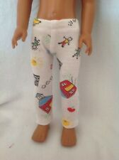 "Fit Wellie Wishers American Girl back to school leggings 14"" doll clothes outfit"