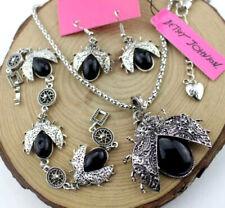 Beetle Bracelet earring Charm necklace Set Enamel Pendant Jewelry Betsey Johnson
