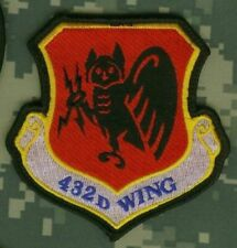 USAFSOC DEATH FROM ABOVE MQ-9 Reaper 432D WING 42D ATTACK SQN 42 ATKS CREECH AFB