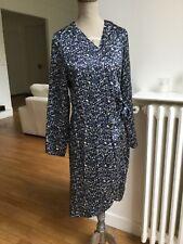 jolie robe portefeuille 100% soie LYNN ADLER T.S ou 36 neuve avec étiquette