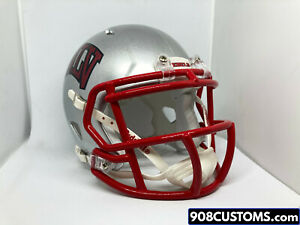 Custom UNLV Rebels Riddell Mini Football Helmet Alternate 2015-Present