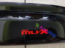 BLACK 4 DOOR VISOR RAIN WEATHER GUARDS FOR NEW ISUZU MU-X 2014 SUV